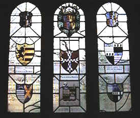 Heraldic Window (The Currer Chapel)